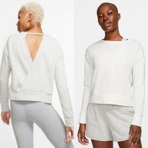 Nike Crossover Open Back Sweatshirt
